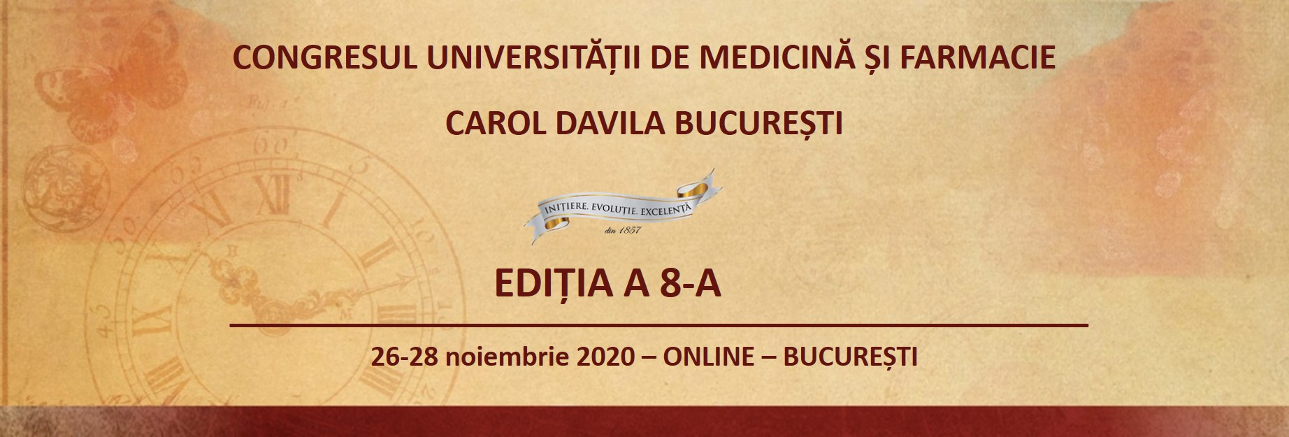The Congress of the University of Medicine and Pharmacy Carol Davila Bucharest